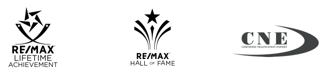 Remax lifetime achievement award, Remax hall of fame award, certified negotiator expert