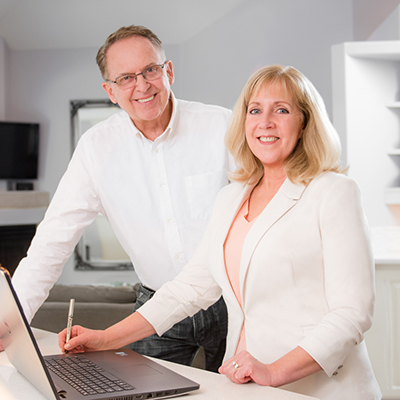 Alex and Gai Michie, the spouses who sell houses